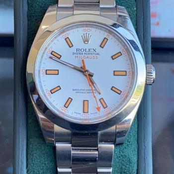 Rolex Milgauss 116400 2015